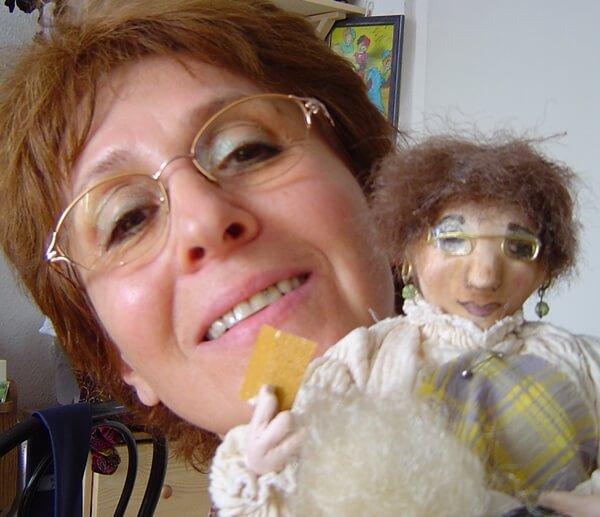 Rónai Katalin, babakészítő mester
